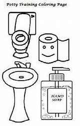 Potty Training Tools Child Coloring Boys Behavior Tips Items Start Guide Preferred sketch template