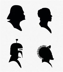 39+ Star Wars Silhouette Clip Art   star wars party ideas ...