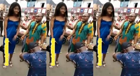 Crowd begs a lady to say YES after her boyfriend broke ...