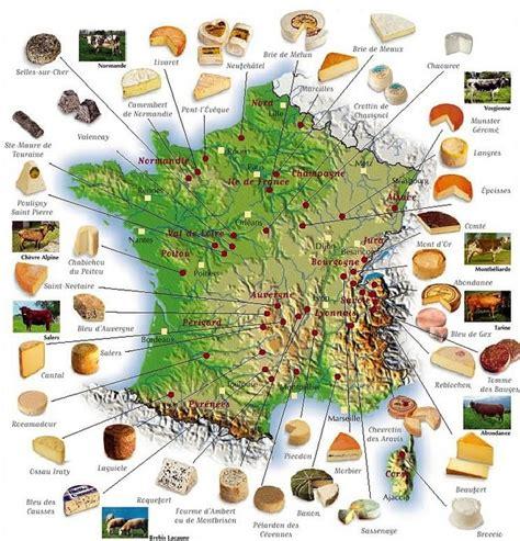 carte de des fromages brie de melun camenbert de normandie bleu d auvergne roblochon mont