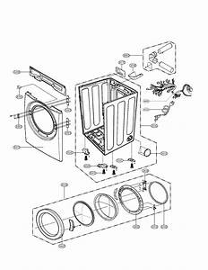 Lg Model Dle2516w Residential Dryer Genuine Parts