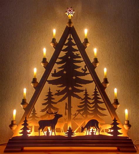 Weihnachtsdeko Holz Erzgebirge by Schwibbogen Aus Dem Erzgebirge Candle Light
