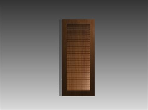 Shutter door inserts 3d model 3dsMax,3ds,AutoCAD files