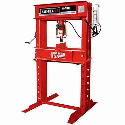Press Hydraulic Manual Ton 50t Tools Sunex