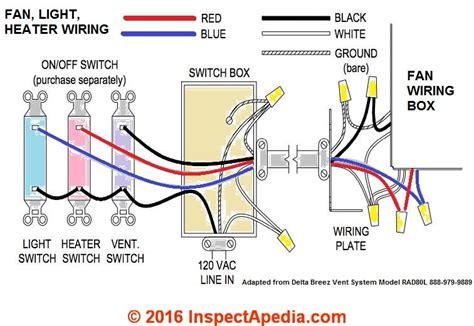 wiring diagram bathroom fan light heater readingrat net
