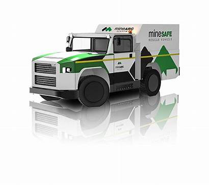 Vehicle Rescue Underground Mining Minearc Personnel