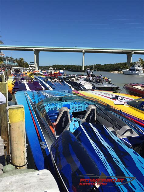 Florida Powerboat Club Miami Boat Show by Florida Powerboat Club Brings Some Badly Needed Heat To