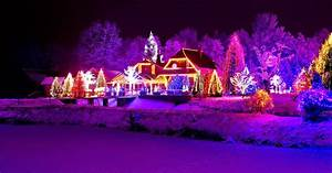 Weihnachten In Hd : haus mit weihnachtsbeleuchtung hd hintergrundbilder ~ Eleganceandgraceweddings.com Haus und Dekorationen