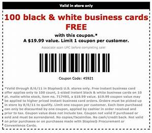 Coupon code business cards staples best business cards for Staples business cards promo code