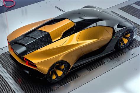 Lamborghini Belador Concept Supercar Rendered