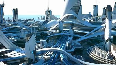 Utopia Artstation Futuristic Kitbash3d Sci Fi 3d
