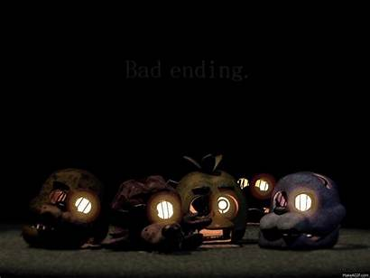 Fnaf Ending Bad Freddy Nights Five Glitch