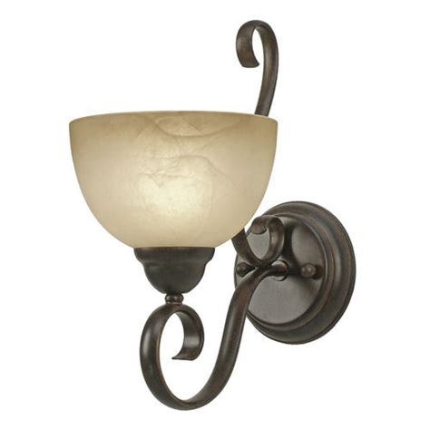 patriot lighting 174 newton 7 quot 1 light peppercorn wall sconce