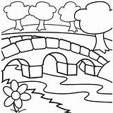 Coloring Bridge Clipart Cabin Pages Log Sheet Bridges Clip Drawing Cliparts Garden Printable Cartoon Ruby Sheets Books Clipartpanda Coloringpagesfortoddlers Children sketch template
