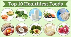 are you these 10 healthiest foods