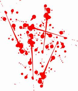 Red Paint Splat Clip Art at Clker.com - vector clip art ...