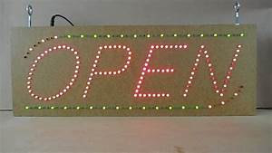Build An Led Open Sign