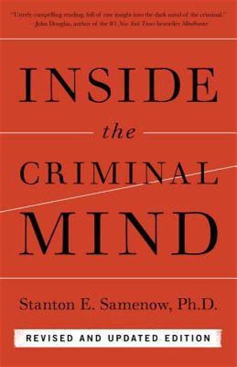 Image result for inside the criminal mind samenow
