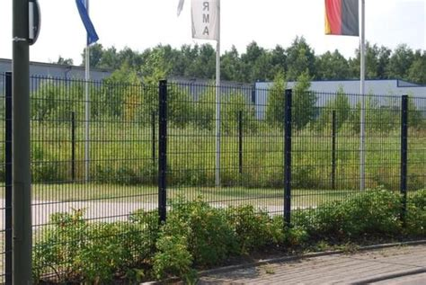 Garten Kaufen Castrop Rauxel by 25m Zaun Doppelstabmattenzaun Inkl Pfosten 1m Hoch