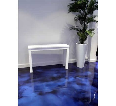 Decorative polished concrete coatings Colour Change