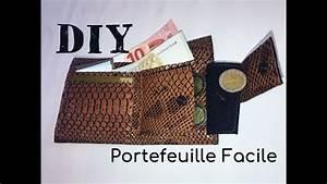 coudre un portefeuille facile tutoriel couture et diy With coudre un canapé en cuir