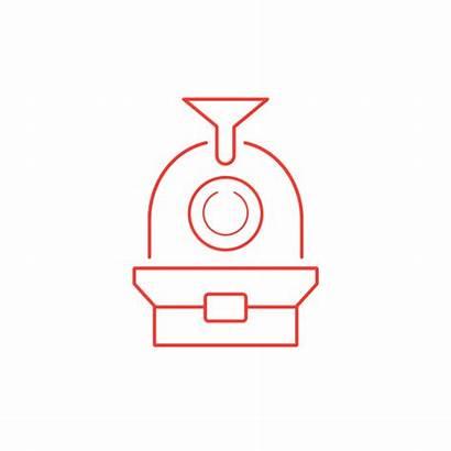 Roasting Coffee Machine Icon Subscription Order Icons