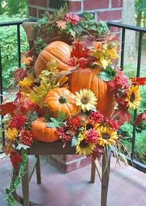 Shelley, B, Decor, And, More, Fall, Porch, Decorating
