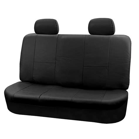 leather bench seat pu leather rear bench seat covers top quality for car