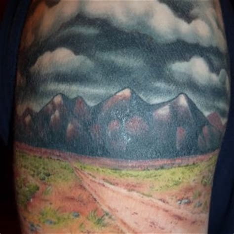 amazing desert landscape   ian  good faith tattoos