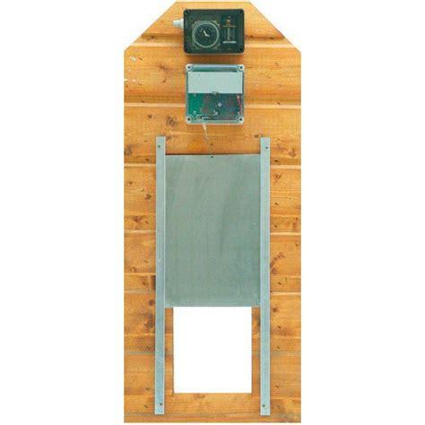 porte automatique pour poulailler porte automatique de poulailler complet elevage mirador astrid de sologne