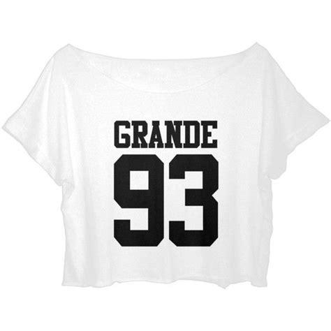 tshirt grande 93 grande 93 croptop back t shirt