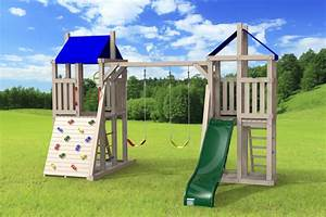 Jeux Exterieur Bois Enfant : module de jeu ext rieur le demi tour 4x4 jeux modul 39 air ~ Premium-room.com Idées de Décoration