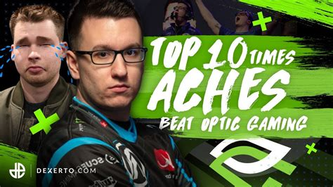 Top 10 Times Aches Beat OpTic Gaming - Dexerto