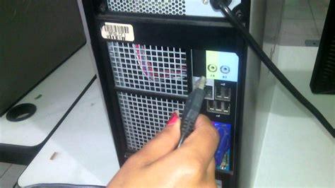 conectar los cables al cpu