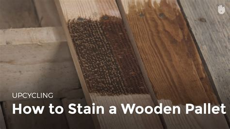 stain wood upcycling youtube