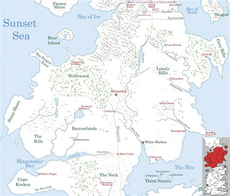 North - A Wiki of Ice and Fire