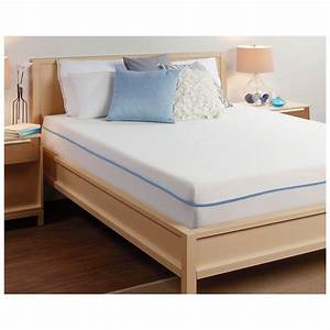 Sealyr comfort revolutionr memory foam queen mattress for Are memory foam mattresses comfortable