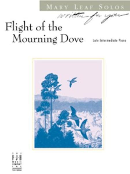 Flight Of The Mourning Dove By Mary Leaf Solo Sheet