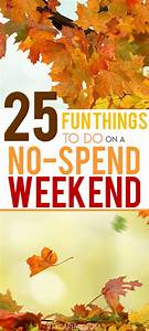 Monthly Study Planner Over 25 Fun Things To Do Over A No Spend Weekend