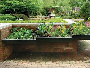Photos hgtv for Raised landscape beds