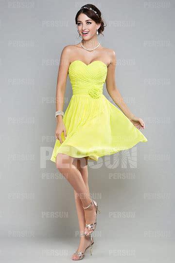 robe courte pastel verte pour demoiselle dhonneur persun fr
