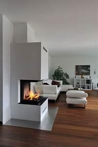 Kamin 3 Seiten : chemin e 3 seiten fireplaces kamin wohnzimmer wohnzimmer kachelofen ~ Frokenaadalensverden.com Haus und Dekorationen