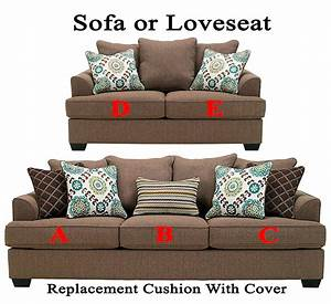 ashleyr corley replacement cushion cover 2880038 sofa or With ashley furniture cushion cover replacement