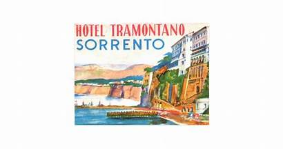 Sorrento Postcard Italy Hotel Tramontano Zazzle