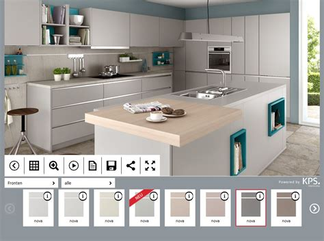 Küchen Konfigurator 3d