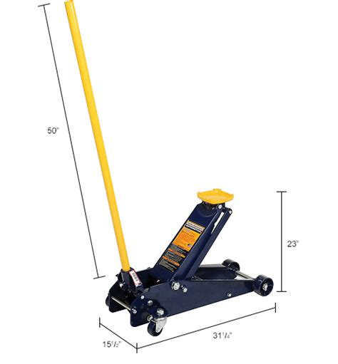 Hein Werner Floor 3 Ton by Service Jacks Lift Supports Hydraulic Jacks Hein
