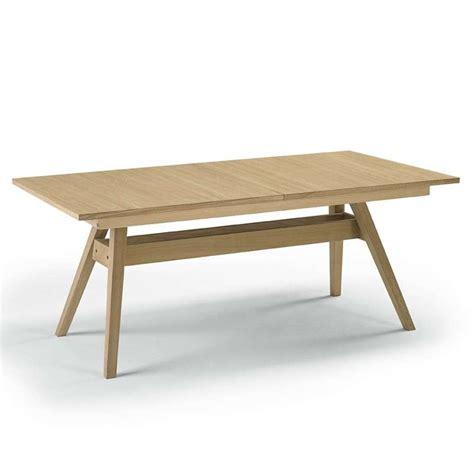 table style scandinave table en bois scandinave avec allonge 4 pieds tables chaises et tabourets