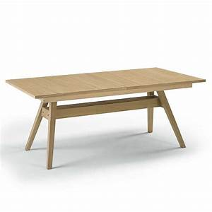 Table Scandinave Extensible : table de s jour scandinave extensible en bois sm11 4 ~ Teatrodelosmanantiales.com Idées de Décoration