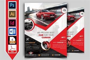 Rent A Car Flyer Template Vol