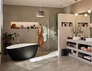 But Salle De Bain : salles de bains modernes styles et tendances leroy merlin ~ Dallasstarsshop.com Idées de Décoration